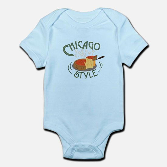 Chicago Sign Body Suit