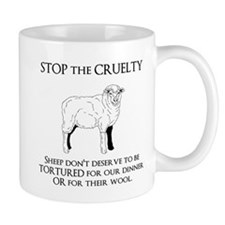 Sheep Cruelty Mugs