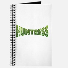 huntress female hunter gifts Journal