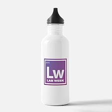 Lab Week 2015 Logo Stainless Water Bottle 1.0l