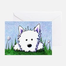 Springtime Westie Greeting Cards (Pk of 20)