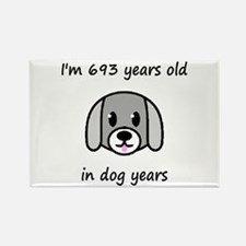 99 dog years 2 - 2 Magnets