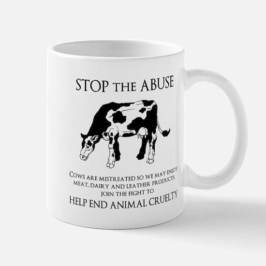 Cow Abuse Mugs