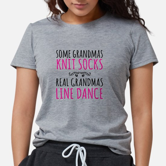 Real Grandmas Line Dance T-Shirt