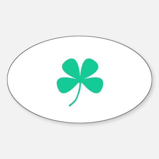 Green Irish Pride Shamrock Rocker for Marc Decal