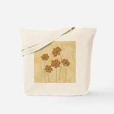 Baroque scheme floral Tote Bag