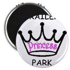 trailer park princess pink Magnets