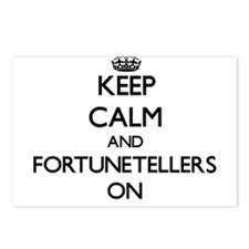 Keep Calm and Fortunetell Postcards (Package of 8)