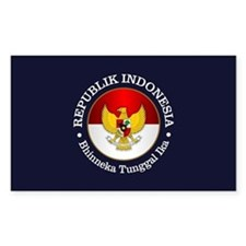 Indonesia (rd) Decal