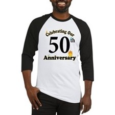 Unique 50th wedding anniversary Baseball Jersey