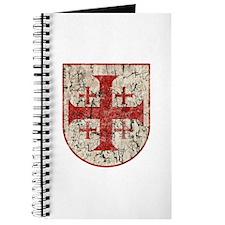 Jerusalem Cross, Distressed Journal