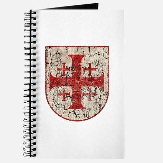 Jerusalem Cross, Distressed Journal