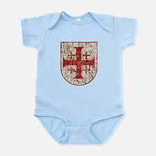 Jerusalem Cross, Distressed Infant Bodysuit