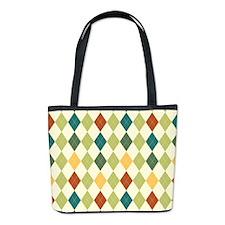 Paxton Argyle Pattern Bucket Bag
