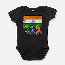 Unique Bombay Baby Bodysuit