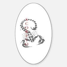 SCORPIO Sticker (Oval)