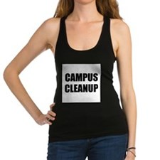 Campus Cleanup Racerback Tank Top