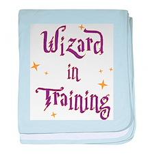 Cute Wizards baby blanket