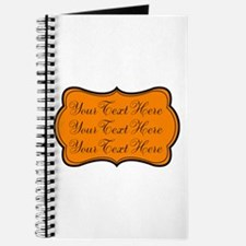 Orange and Black Journal