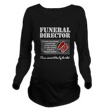 Cute Morbid Long Sleeve Maternity T-Shirt