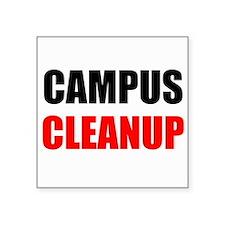 Campus Cleanup Sticker