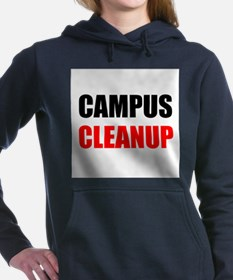 Campus Cleanup Women's Hooded Sweatshirt