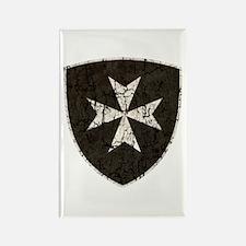 Knights Hospitaller Cross, Distre Rectangle Magnet