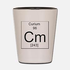 96. Curium Shot Glass