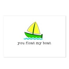 You Float my Boat Postcards (Package of 8)