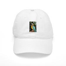 Yellow and Blue Macaw Baseball Cap