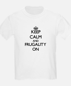 Keep Calm and Frugality Women's Cap Sleeve T-Shirt