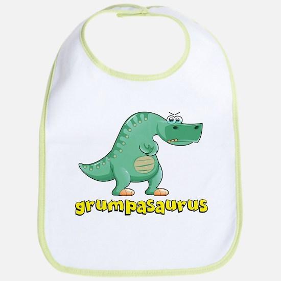 Grumpasaurus Bib