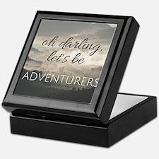 Let's Be Adventurers Keepsake Box