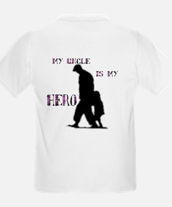"""my uncle is my hero"" T-Shirt"