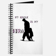 """my uncle is my hero"" Journal"