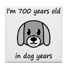 100 dog years 2 - 2 Tile Coaster