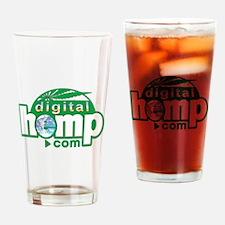 DigitalHemp.com Drinking Glass