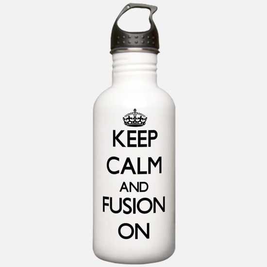 Keep Calm and Fusion O Sports Water Bottle