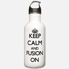 Keep Calm and Fusion O Water Bottle