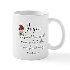 Joyce Design Mugs-Prov. 17:17