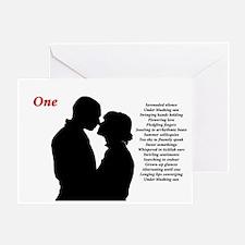 """One"" Greeting Card"