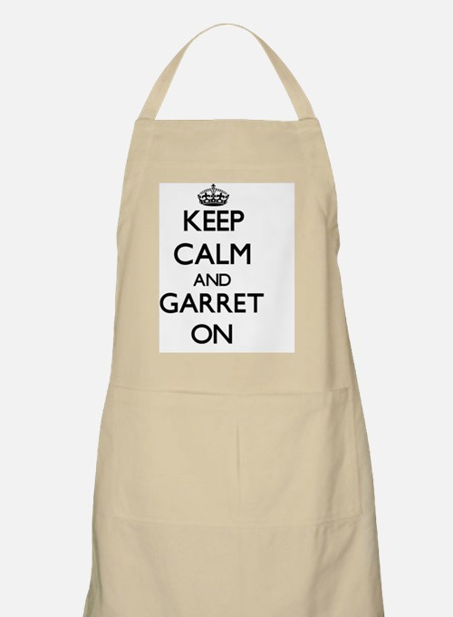 Keep Calm and Garret ON Apron