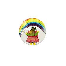 Fairy Moose Mother Mini Button