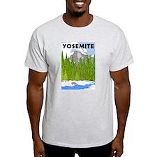 Yosemite Travel Poster T-Shirt