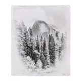 Yosemite Fleece Blankets