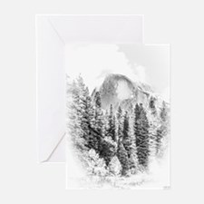 Wintry Mountain Portrait Greeting Cards (Pk of 10)
