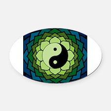 yylotus Oval Car Magnet