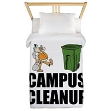 Campus Cleanup Twin Duvet