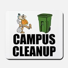 Campus Cleanup Mousepad