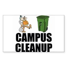 Campus Cleanup Decal